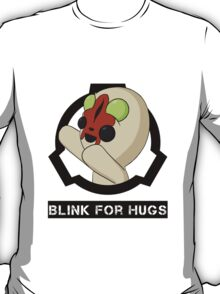 SCP-173 Blink For Hugs (Hollow) T-Shirt