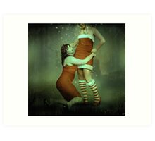 make-believe Art Print