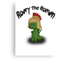 Roary the Roman Canvas Print