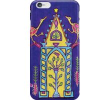 Hanukkah mosaic from ancient synagogue in Israel iPhone Case/Skin