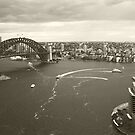 Sydney icons aerial by Sara Lamond