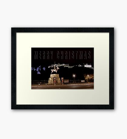 Christmas Card 31 Framed Print