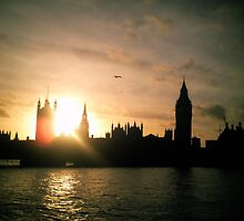 The Houses of Parliament by Carey