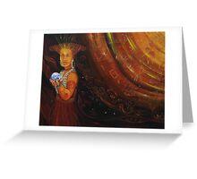 'Mayan Messenger' Greeting Card