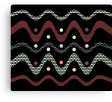 Patternwork XVI (black edition) Canvas Print