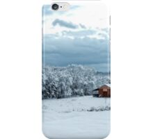 Snow in The South (revisited) iPhone Case/Skin