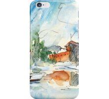 Saint-Cyprien Plage 02 iPhone Case/Skin