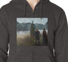 Legolas-Tauriel concept Zipped Hoodie