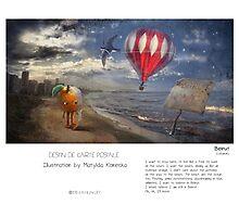 """Beirut"" in words & image (M.Konecka) Photographic Print"