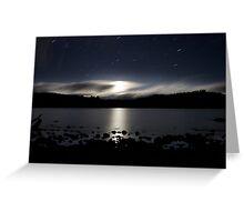 Lake St Clair Moonlight Greeting Card