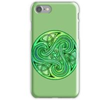 Green Triskell iPhone Case/Skin