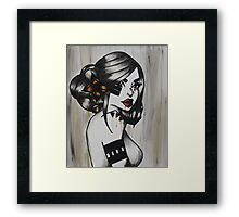Love Feels Like War Framed Print