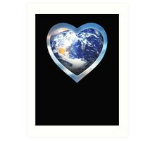 for the love of earth Art Print