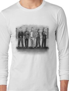 Breaking Bad/ The Usual Suspects (BW) Long Sleeve T-Shirt