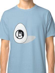 LINUX TUX EGG BRAND  Classic T-Shirt