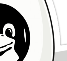 LINUX TUX EGG BRAND  Sticker