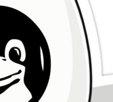 LINUX TUX EGG BRAND  Sticker