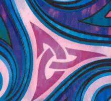 Blue Triskell Sticker
