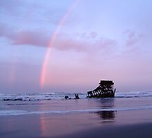 The Wreck of the Ol' Peter Iredale by Terry Shumaker