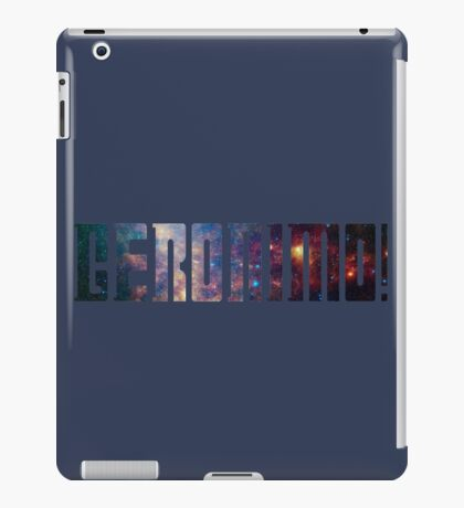 Geronimo! iPad Case/Skin