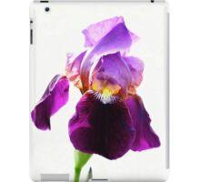 Pretty Purple Iris iPad Case/Skin