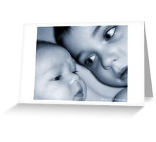 Faces of Innocence Greeting Card