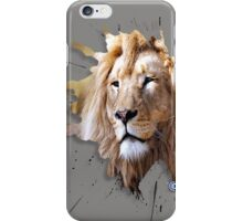 lions big cats iPhone Case/Skin