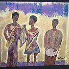 The jazz band  by Hadassah
