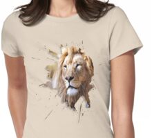 lions big cats Womens Fitted T-Shirt