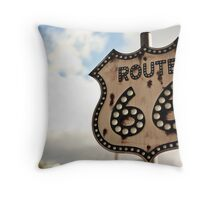 Get Your Kicks Throw Pillow