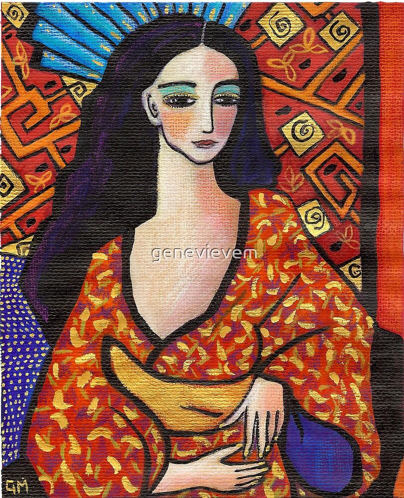 gondwana geisha by genevievem