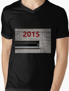 2015 brick work Mens V-Neck T-Shirt
