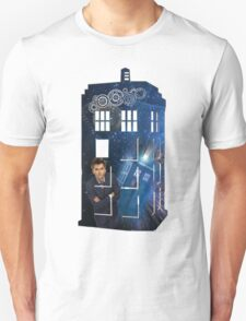 10th & The Tardis T-Shirt