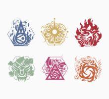EXO-K Symbols Mini Sticker Set by zyguarde