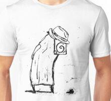 Monk with Fedora Unisex T-Shirt