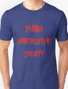 Zombie Appreciation Zociety T-Shirt