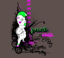oO PUNK CHIK Oo Womens Fitted T-Shirt