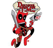 Deadpool Time Photographic Print