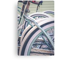 Bikes Canvas Print