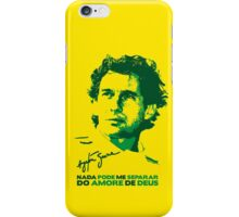 Ayrton Senna Tribute iPhone Case/Skin