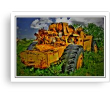 Job Done parked to Stay Canvas Print