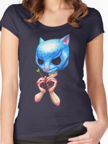 The Purrrge Women's Fitted Scoop T-Shirt