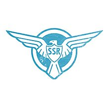 SSR Blue Photographic Print
