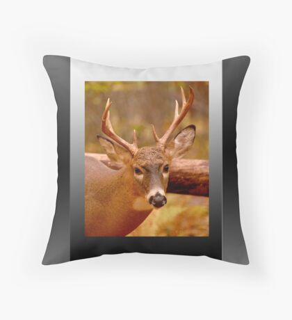 Deep in Thought (card) Throw Pillow