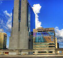 Downtown Miami - DSC_1551 by Roland Pozo