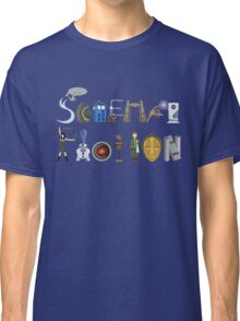 Science Fiction Typography Classic T-Shirt