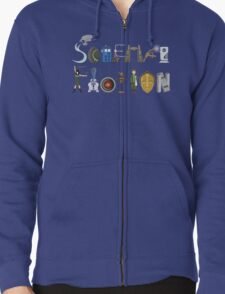 Science Fiction Typography T-Shirt