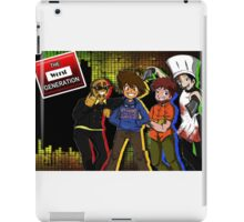 The Worst Generation Channel Cover image gear iPad Case/Skin