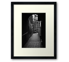 Alleyway Jerusalem Tavern Framed Print