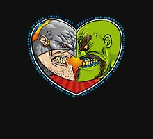 Mutant Vs Cyborg: A Love Story Womens Fitted T-Shirt